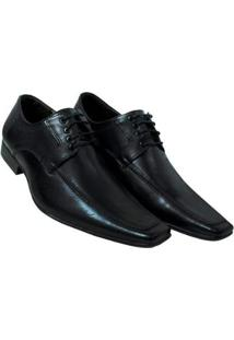 Sapato Bigioni Social Sola Borracha Masculino - Masculino-Preto