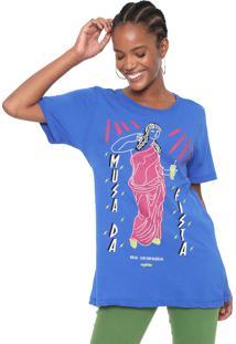 Camiseta Cantão Musa Da Pista Azul
