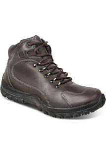 Bota Adventure Masculina Sandro Republic Trails Marrom Escuro