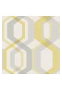 Papel De Parede The Young Ones Ym2323 Belga Com Estampa Geométrico, Retrô
