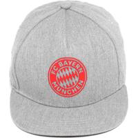 Boné Adidas Performance Snapback Bayern München Cinza 77b143b96a4