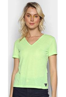Camiseta Triton Feminina - Feminino-Verde Escuro