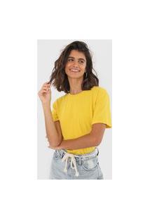 Camiseta Oh, Boy! Basic Amarela