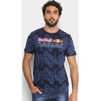 Camiseta Puma Red Bull Racing Aop Tee Masculina - Masculino-Marinho efc8d34ed57