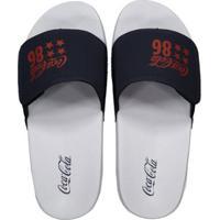 90bc9cdce8 Chinelo Coca Cola Slide Velcro 86 Star - Masculino