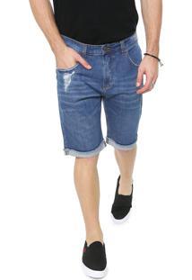 Bermuda Jeans John John Reta Iorque Azul
