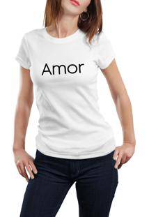 Camiseta Hunter Amor Branca