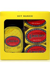 Kit Banho Phebo Odor De Rosas