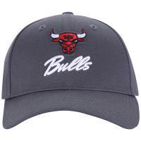 Boné Aba Curva New Era 940 Chicago Bulls Classic - Strapback -Adulto - Cinza 2f41c43173f