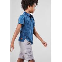 Camisa Polo Infantil Piquet Lavanderia Reserva Mini Masculina - Masculino 982b2ea3a3fd2