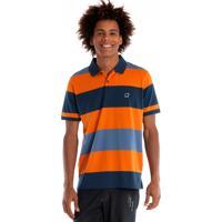 Camisa Polo Konciny Manga Curta Laranja dfdf55bde4770