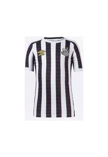 Camisa Umbro Santos Ii 2021 Juvenil