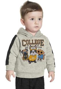 Casaco College Bege