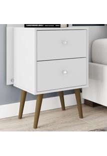 Criado-Mudo 450 Mb2015 Branco - Bechara Móveis