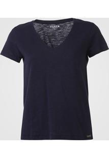 Camiseta Dzarm Lisa Azul-Marinho - Kanui