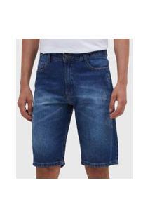 Bermuda Jeans Azul D Bell