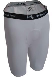 Bermuda Térmica C/ Suporte - Poliéster - Nata Sports - Masculino
