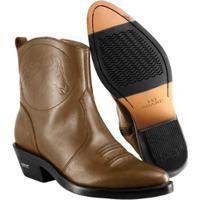495cc6fbaf Bota Texana Hb Agabe Boots Masculina - Masculino-Café