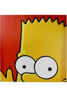 Quadro Bart Curioso - Quadro Bart Simpson