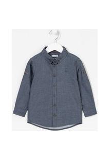 Camisa Infantil Básica - Tam 1 A 4 Anos