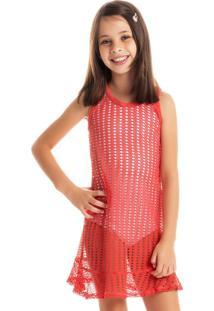 Vestido Oásis Regata Infantil