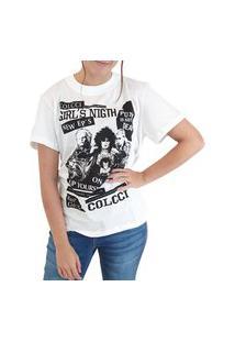 Camiseta Estampada Colcci Branco