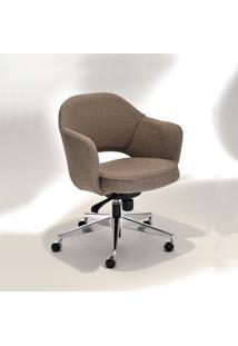 Cadeira Giratória Saarinen 71 Office Alumínio Studio Mais Design By Eero Saarinen