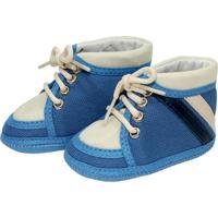 ea499d5da Dafiti. Tênis Cano Alto Confort Sapatinhos Baby Azul E Bege