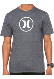 Camiseta Hurley Silk Circle Icon - Masculino 069e2659a38