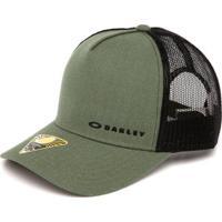 Boné Oakley Chalten Tucker Mid - Unissex-Verde ee3a9b8cb00