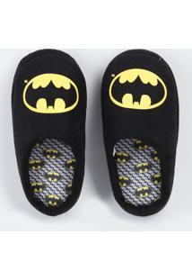 Pantufa Infantil Batman Liga Da Justiça