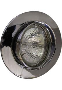 Spot Dicróica Dirigível Zamac Mr16 50W 220V Cromado