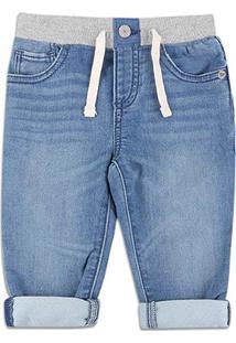 Calça Jeans Bebê Gap Masculina - Masculino-Jeans
