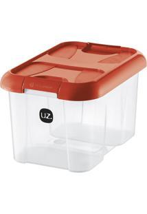 Caixa Organizadora Plus Vermelha 10 L