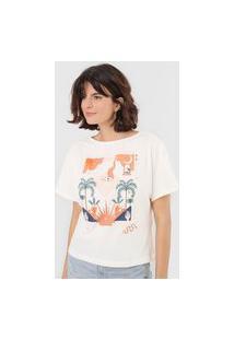 Camiseta Forum Summer Off-White