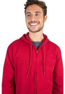 Casaco Moletom Taco Masculino - Masculino-Vermelho Escuro