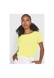 Camiseta Lança Perfume Logo Amarela/Branco