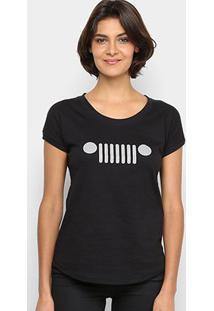 Camiseta Jeep Grade Feminina - Feminino