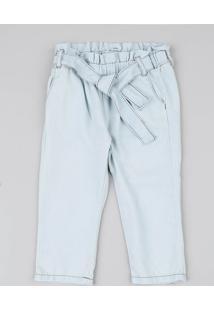 Calça Jeans Infantil Clochard Azul Claro