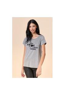 T-Shirt Tvz Estampa Amor