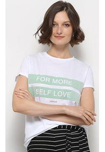 Camiseta T-Shirt Lez Lez Estampada Feminino - Feminino