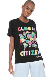 Camiseta Cantão Global Citizen Preta
