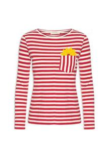 Camiseta Feminina Soleil - Vermelho