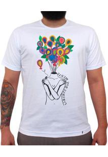 Liberte Sua Mente - Camiseta Clássica Masculina