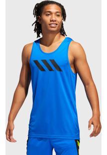 Regata Adidas Performance Sport 3-Stripes Azul