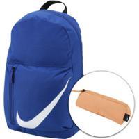 b1636d6ea Centauro. Mochila Nike Elemental - 22 Litros - Azul/Branco