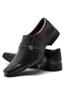 Sapato Social Glamour Com Relógio Dubuy 806Od Preto