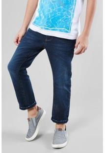 Calça Infantil Jeans Piracaia Reserva Mini Masculina - Masculino-Marinho