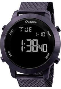 Relógio Champion Digital Feminino - Feminino-Roxo