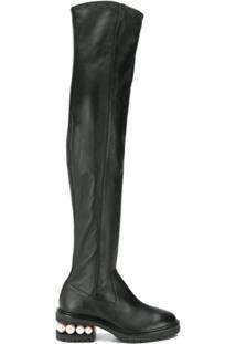 Nicholas Kirkwood Casati Pearl Otk Boots - Preto